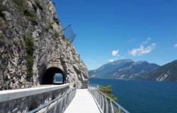 Ferien am Gardasee: Der erste Abschnitt des Fahrradwegs am Gardasee ist eröffnet