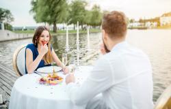 Ferienanlage am Gardasee: Cena nel Golfo